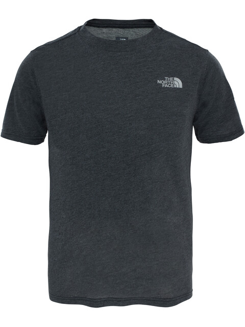 The North Face Boys Reaxion S/S Tee TNF Dark Grey Heather